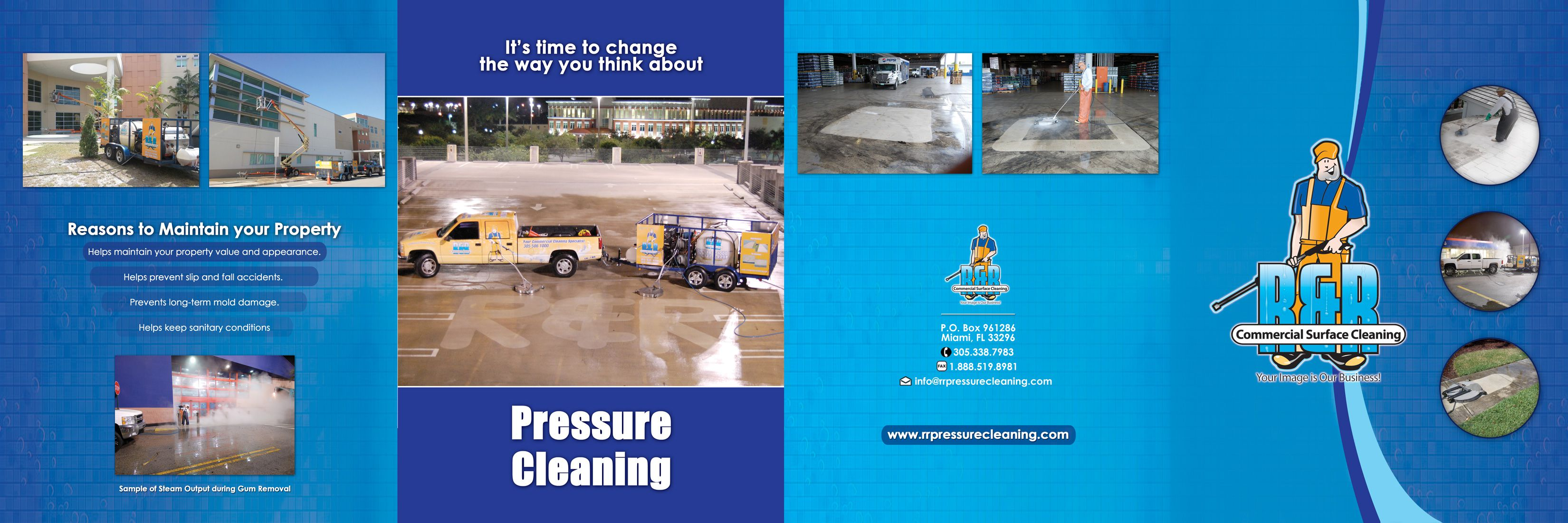 residential pressure washing business commercial miami fl brochure brochure steam pressure cleaning