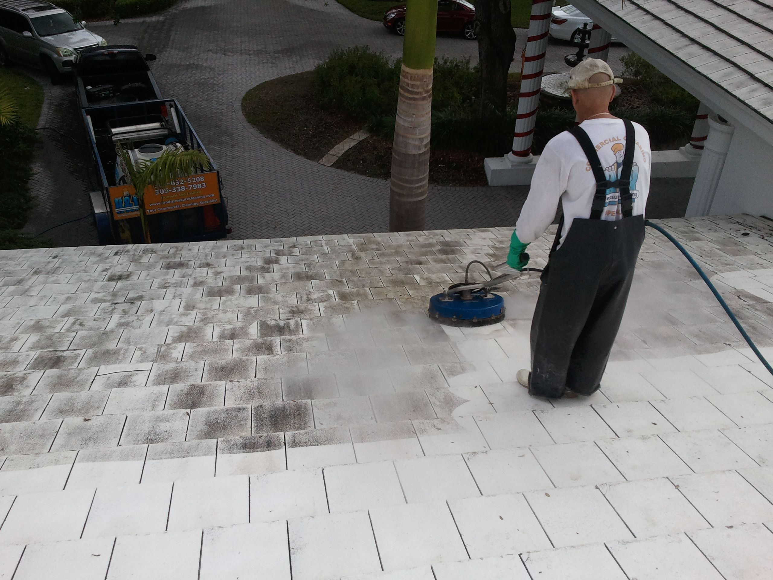 Gables Estates Roof Cleaning